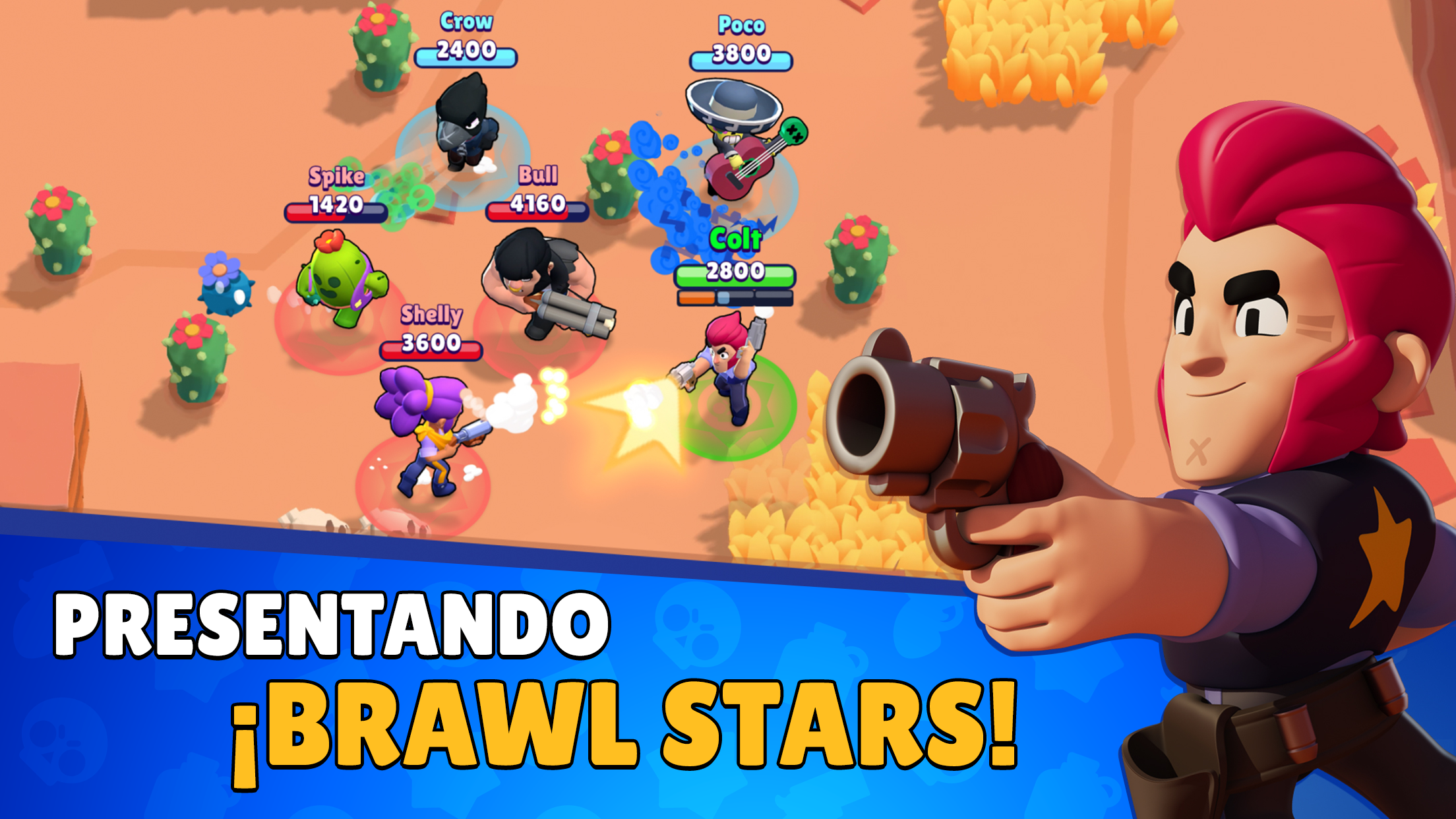 ¡ya está aquí brawl stars el juego nuevo de supercell